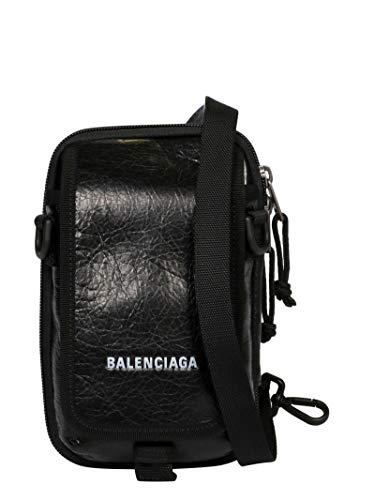 Luxury Fashion | Balenciaga Mens 593329DB9C51000 Black Messenger Bag | Fall Winter 19