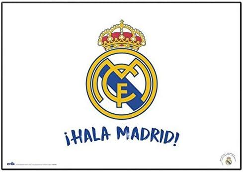 empireposter Real Madrid - Hala - Schreibtischunterlage ca. 35x50 cm, abwischbar