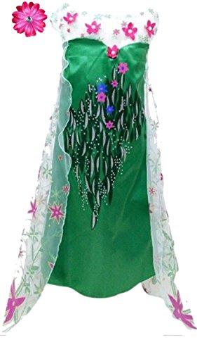 Frozen Fever Inspired Dress Hair