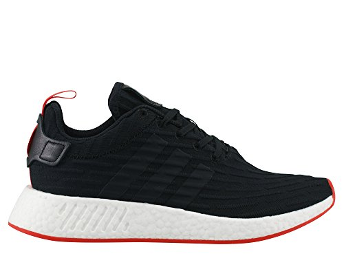 adidas Originals NMD_R2 PK, ftwr white-ftwr white-core red core black-core black-core red