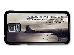 AMAF ? Accessories Game Of Thrones House Stark Targaryen Lannister Quote Be Brave case for Samsung Galaxy S5