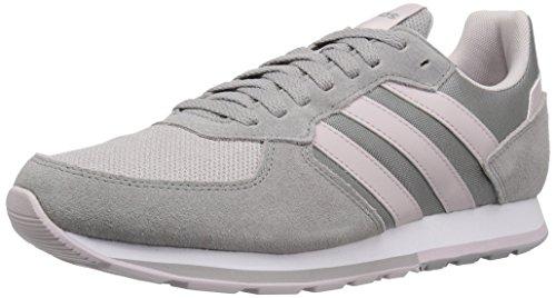 adidas Women's 8K Running Shoe, ice Purple/Light Granite, 7 M US