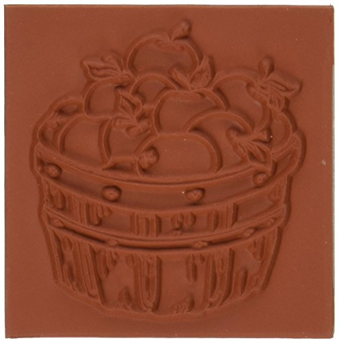 Deep Red Stamps Apple Harvest Rubber -