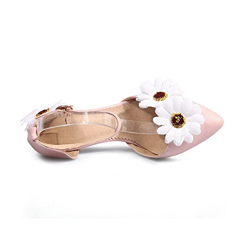 Sandals Urethane Mini Pink Size 1TO9 Dress Embroidered MJS03144 Womens XzvnxBY