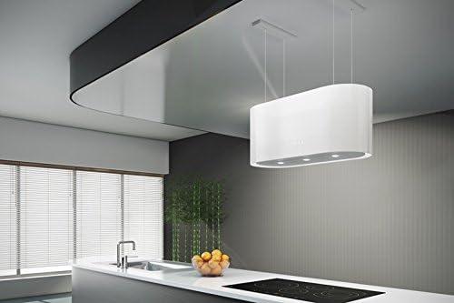 Haag Cappa Cucina Filtrante Acciaio Inox Luci Led Filtro Carbone Gratis Isola Santina Bianco Amazon It Grandi Elettrodomestici