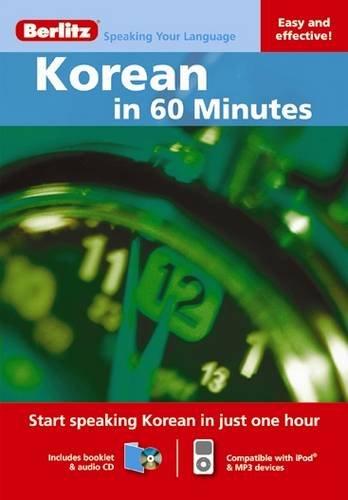 Berlitz Korean in 60 Minutes (Berlitz in 60 Minutes)