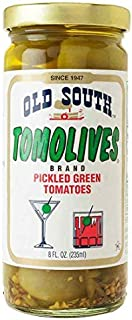 product image for Old South Tomolives Pickled Green Tomato, 8 oz jar | Gluten Free Pickled Vegetable | Great Cocktail Snack