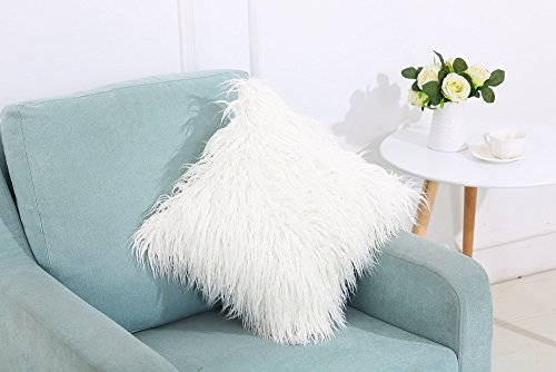 Belimely Soft Plush Throw Pillow Cover 18