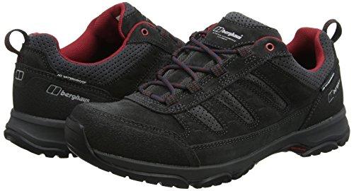 Aq Hommes Fonc Multicolores Berghaus Chaussures Tech De Expeditor Randonne gris Pour Active B86 Rouge wAYAqx