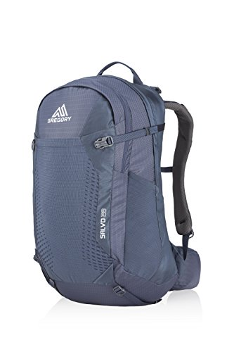 Gregory Mountain Products Men's Salvo 28 Liter Backpack, Smoke Blue, One Size ()