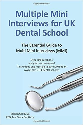 Multiple Mini Interviews (MMI) for UK Dental School: Amazon.co.uk ...