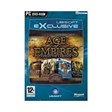 Age of Empires Collector Edition with Age 1 and 2 Plus 2 Expansion