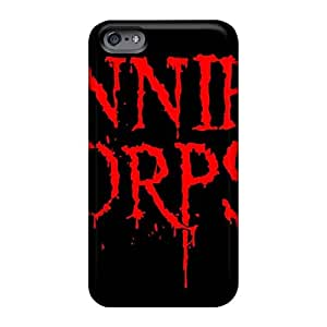 Excellent Hard Phone Cover For Iphone 6plus With Provide Private Custom Colorful Cannibal Corpse Band Pictures JamieBratt