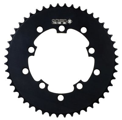 Origin8 BMX / Singlespeed / Fixie Chainring, 48t, 110/130 BCD, 1/8, Black