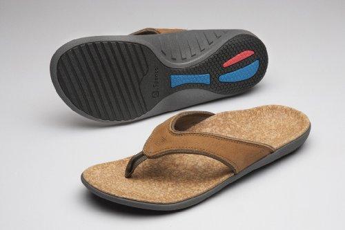 Spenco Men's Yumi Leather Sandal, Black 13M Medium US by Spenco (Image #2)