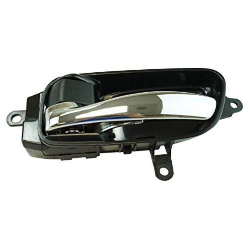 Inside Interior Door Handle Black & Chrome Driver Side LH for Altima Pathfinder ()