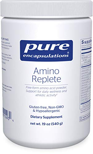 Pure Encapsulations – Amino Replete – Hypoallergenic Free-form Amino Acid Powder Supplement – 540 Grams