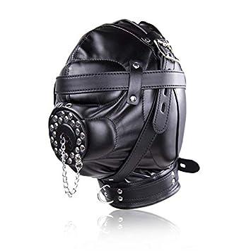 handicaps structurels vente officielle couleur n brillante SM contention jouet esclave couple tête masque de jeu de ...