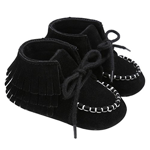 Chaussures bébé garçon 2017 Rawdah Berceuses Antidérapantes Newborn Tassel Soft Anti-Slip