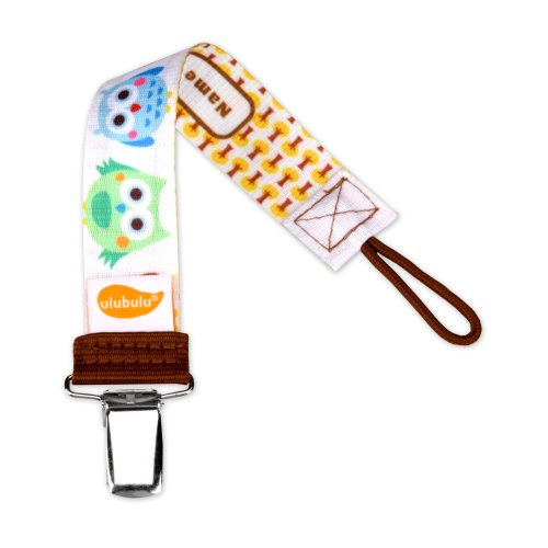 Ulubulu Universal Pacifier Clip, Oliver - Clip Pacifier
