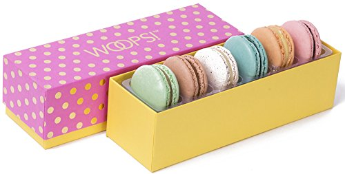 WOOPS Macarons - Classic Surprise - 6 Count Gift Box