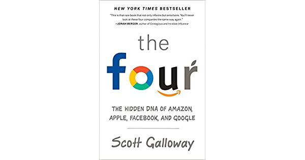 The four the hidden dna of amazon apple facebook and google the four the hidden dna of amazon apple facebook and google livros na amazon brasil 9780735213654 fandeluxe Choice Image