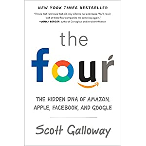 41fM LOujxL. SS300  - The Four: The Hidden DNA of Amazon, Apple, Facebook, and Google