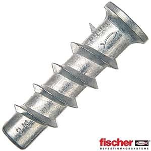 Fischer (78415) - Taco FTP M6 para hormigón celular (25 unidades)