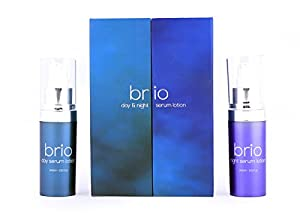 Brio Day And Night Anti Aging Serum – Best Skincare Face Serum & Eye Serum With Hyaluronic Acid And Vitamin C & E