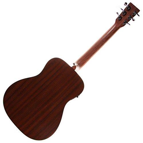 martin lx1e acoustic guitar w fishman sonitone electronics solid sitka spruce top modified o 14. Black Bedroom Furniture Sets. Home Design Ideas