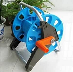 Amazon.com: Garden Water Hose Reel Cart Pipe Rack Portable ...