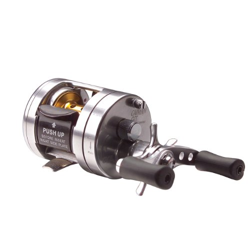 TICA GT Series Caiman Silver Bait Casting Reel (6 Ball Bearings)