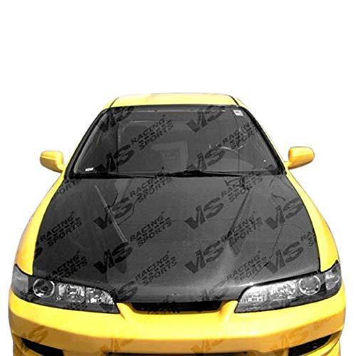 VIS Racing (94ACITR2DVS-010C) Invader Style Hood Carbon Fiber - Compatible for Acura Integra (JDM) 1994-2001 (1994 1995 1996 1997 1998 1999 2000 2001 | 94 95 96 97 98 99 00 01) ()