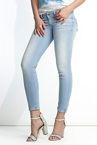 Push super pitillo Azul Up pierna Salsa Jeans qp0w88