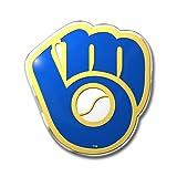 Milwaukee Brewers 3D COLOR Chrome Auto Home Emblem Decal Baseball