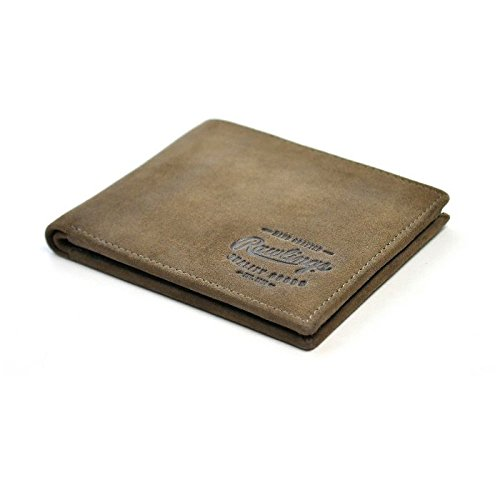 Rawlings Men's Double Steal Bifold, Brown