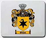 Gehm Family Shield / Coat of Arms Mouse Pad