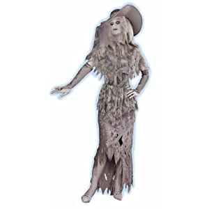 Forum Novelties Women's Ghostly Gal Costume