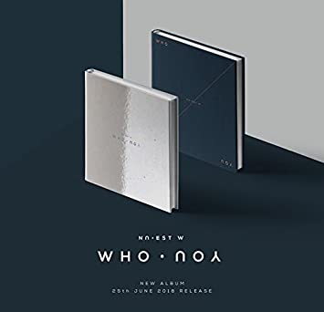 NU'EST W [WHO, YOU] Album Random Ver CD+96p Photobook+2p Photocard+Tracking  Number K-POP SEALED