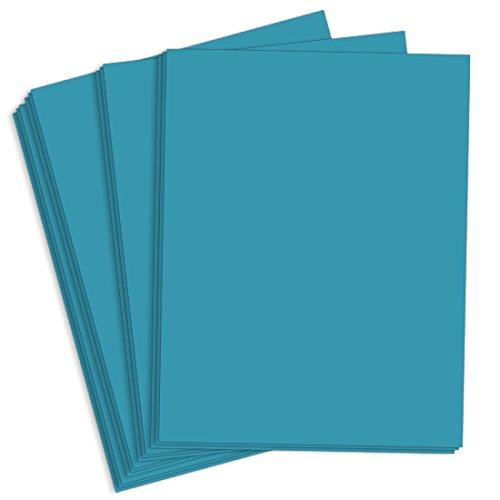 Astrobright Celestial Blue Cardstock - 8 1/2 x 11, 65lb Cover, 2000 Pack