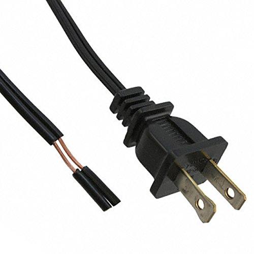 Qualtek Electronics (Qualtek Electronics 221002-01 Cable Assembly Power Cord 2.72m 18AWG 2 POS Power F)