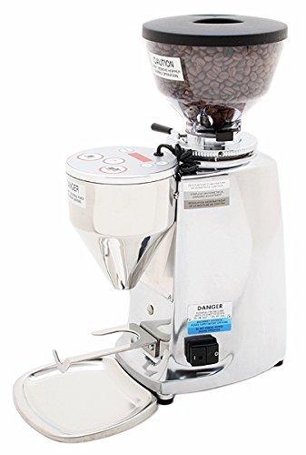 Mazzer Mini Electronic Coffee/Espresso Grinder Type A - Polished Aluminum
