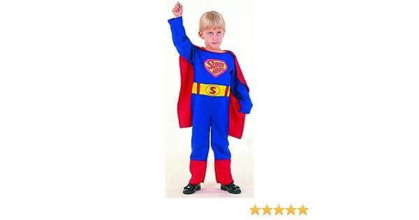 El Carnaval Disfraz Superman Bebe 2-4: Amazon.es: Juguetes y juegos