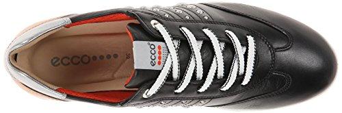 ECCO Womens Street Evo, Sneaker Donna Nero