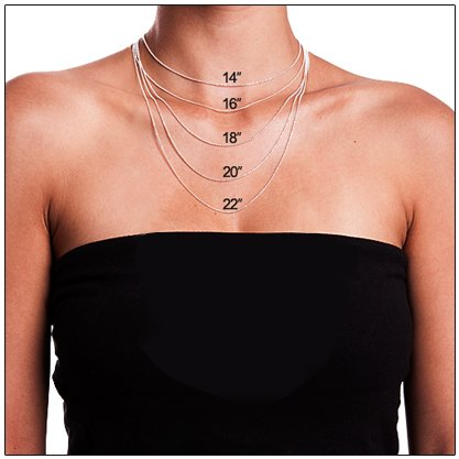 Name Necklace in Different Languages