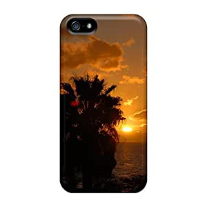 High Quality Amazing Sunset Image Case For Iphone 5/5s / Perfect Case