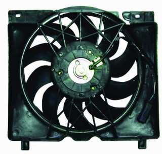 QP A0728-a Jeep Cherokee XJ Replacement AC A/C Condenser Radiator Cooling Fan/Shroud Assembly