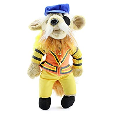 Toy Vault Labyrinth Sir Didymus Plush Figure, 11-Inch Stuffed Toy from Labyrinth Movie with Jim Henson Creatures: Toys & Games