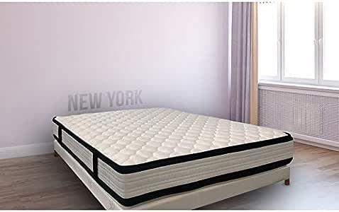 Essenzia Conjunto Nueva York + somier Tradition + Patas 160 x ...