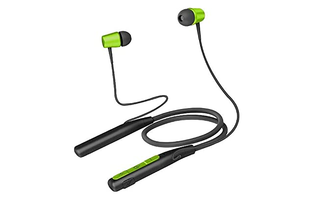 Amazon.com: Jarv Wave Flex Wireless Sport Running Workout Bluetooth Neckband Headset with Mic/Volume Control & Siri/Google Assistant: Home Audio & Theater